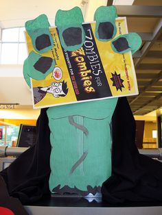Zombies Rule in the Library 6 by BookGuide at LCL, via Flickr
