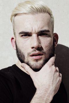 Men's Hairstyles: Blond Crop.