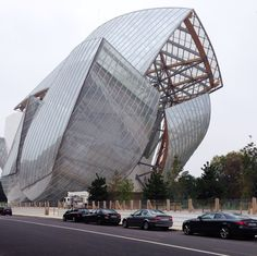 Frank Gehry's soon-to-be-completed design for the Louis Vuitton Foundation for Creation.