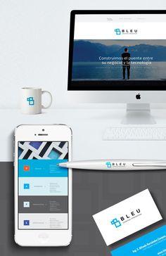 Diseño gráfico, una propuesta limpia y organizada.