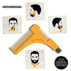 """groomarang le plus grand nom de barbe -.Avec plus de 10 000 + des critiques positives groomarang est une marque internationale. Comme toujours notre priorité est de fournir à nos clients avec les meilleurs produits de qualité. C'est pourquoi nous utilisons toujours … <a href=""""http://www.organisetafete.fr/produit/new-groomarang-beard-styling-and-shaping-template-comb-tool-perfect-lines-symmetry-shape-face-neck-line-fast-and-easily-by-groomarang/"""">Lire la suite</a>"""