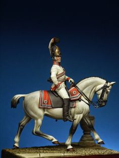 Prince Nikolay Grigorievich Repnin-Volkonsky Chevalier-Garde Regiment on Orlov horse Kiev 1805 Empire, Prince, Imperial Army, Military Figures, Virtual Museum, Miniature Figurines, Napoleonic Wars, Toy Soldiers, Models
