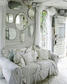 Astounding -> Shabby Chic Living Room Images #excellent