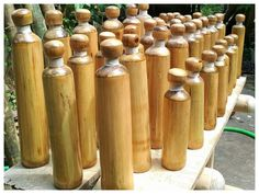 In Fight Against Plastic Pollution, Sikkim Introduces Bamboo Water Bottles For Tourists Bamboo Tree, Bamboo Plants, Drinking Water Bottle, Use Of Plastic, Good Bones, Plastic Pollution, Plastic Bottles, Water Bottles, Biodegradable Products