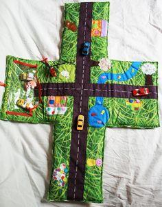 tapis voiture pour enfants - cadeau garçon tapis nomade