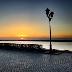 """#Samara #Самара #Волга #Volga #BigRiver #River #Набережная #Наба #Sky #Sunset #River  #iPhone6 #ProHDR  13.04.2015"""