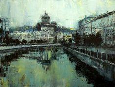 Степанов Сергей - Stepanov Sergey -  Вид на Питер – View on the city -  60х80 sm