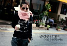 Find More Scarves Information about 2014 New Large Long Warm Casual  Fashion Solid Pink Scarf Winter Spring Autumn Women Wraps Acrylic Free Fhipping For Hot Sale,High Quality Scarves from Han'sLin on Aliexpress.com