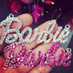 I would totes get this for myself and my Bestie.... but the pink one would be mine... Supes cute barbie chains