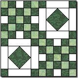 Quilt Square: Pinkham Notch, 20""