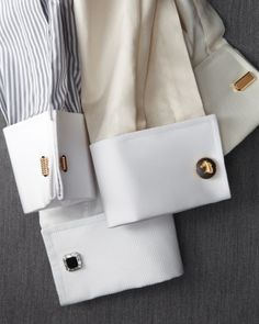 The French Cuff Dress Shirt - Mandatory for the well dressed man!