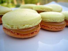 Il était une fois la pâtisserie...: Macarons pommes caramel au beurre salé