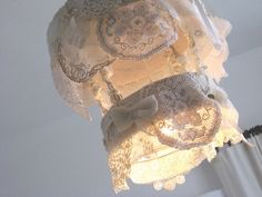zefi's blog: lace doily light fitting for a cousin
