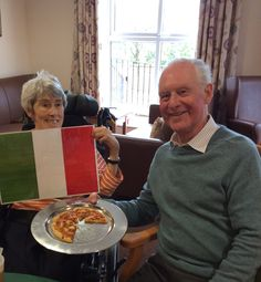 A trip to 'Italy' for Springhill Care Home - Springhill Care Home