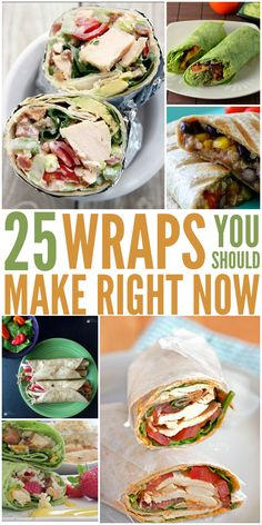 Wrap Recipes You Need to Try