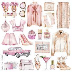 Girly Stuff For Decoupage