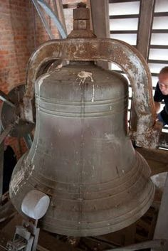 St. Landry Catholic Church bell, located in Opelousas, Louisiana