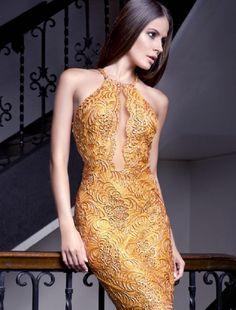Baccio Rossana Painted Short Dress