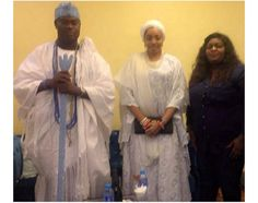 Nollywood actress, Eniola Badmus hangs out with Ooni of Ife and new wife (Photo + Video)