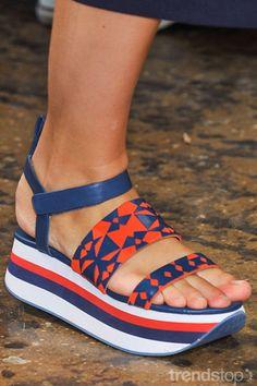 key footwear trends for Spring/Summer 2017