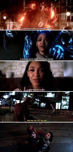 """Hey, hey, hey. Iris!"" - Barry, holding a dead Iris #TheFlash ((Noooo!!))"