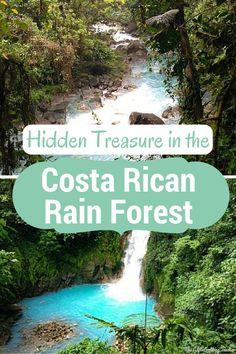 Want to find hidden treasure in the Costa Rican Rain forest? - Tenorio Volcano National Park, Costa Rica