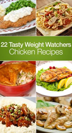 Change up your regular chicken dinner routine without blowing your diet with these 22 Weight Watchers recipes. 1. Crock Pot Teriyaki Chickenkitchme.comThis