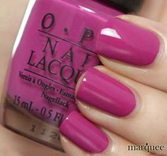 OPI berries In The Canaries.