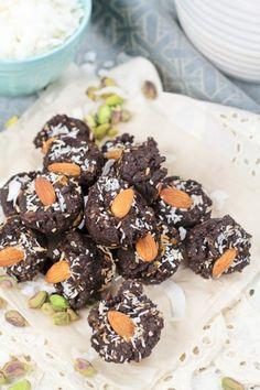 Brownie Bites, grain free