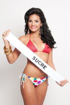 Miss Turismo Sucre 2013, Mildred Rodriguez de 18 años y 1,69 mts @MildredVRR
