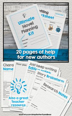 This is the Ultimate kit to kick start your writing project, whether it be a book in a month for NANOWRIMO or your long term project. #NaNoWriMo #writing