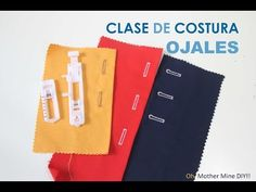 Pie prensatela: para ojales - YouTube Sewing Hacks, Sewing Tutorials, Sewing Crafts, Sewing Projects, Janome, Clothing Patterns, Sewing Patterns, Sew Your Own Clothes, Sewing For Beginners