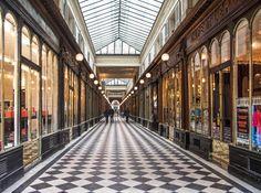 Photo de la galerie Véro-Dodat, passage couvert de Paris