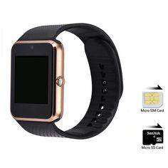 Bluetooth smart watch gt08 unterstützung sim-kartensteckplatz tragbare geräte smartwatch für iphone xiaomi samsung android telefon pk u8 dz09 //Price: $US $39.98 & FREE Shipping //     #meinesmartuhrende