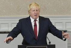 Former London Mayor Boris Johnson Says He Will Not Run For British Prime Minister