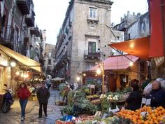 La vucciria | Palermo Palermo, Sicily Travel, Going On A Trip, Catania, Where To Go, Cool Places To Visit, The Good Place, Street View, Italy