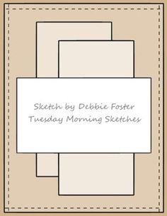 Notes By Nina: Tuesday Morning Sketches #328