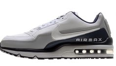 separation shoes 2832b d7e7d NIKE AIR MAX LTD 3 RUNNING SHOES WHITE COOL GREY NAVY NEW 687977-40 (