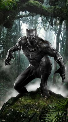 "bear1na: ""Black Panther by John Gallagher * """