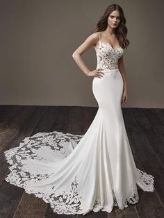 Courtesy of Badgley Mischka Wedding Dresses; www.badgleymischka.com