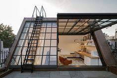 txnk:  creativehouses:  West Village Studio Read More  Dream...