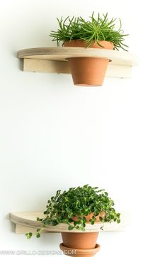 Make a DIY planter shelf from the well known FROSTA stool. If you enjoy finding fun ways to display your plants, you'll love this IKEA FROSTA hack! Ikea Planters, Vertical Garden Planters, Diy Hanging Planter, Hanging Plants, Balcony Garden, Indoor Plants, Terrace, Ikea Hacks, Hacks Diy