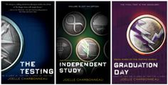 the testing trilogy.. Post a comment below if you have any other book suggestions!