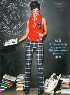 Kendall Jenner for Seventeen Magazine Sept 2012 Shot by Kenneth Willardt