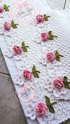Crochet Lace From Alcatraz - Salvabrani Crochet Motifs, Crochet Borders, Crochet Flower Patterns, Crochet Art, Crochet Blanket Patterns, Crochet Shawl, Crochet Designs, Crochet Crafts, Crochet Doilies