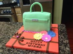 My first purse cake