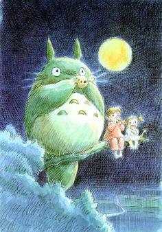 Hayao Miyazaki: Totoro.  one of my faves of his......