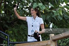 Athina Onassis is seen during CSIO Barcelona 2015, 104th International Show Jumping on September 24, 2015 in Barcelona, Spain.
