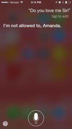 My convo with Siri 2