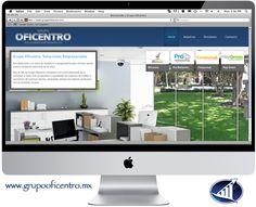 Página web para Grupo Oficentro #Saltillo.  www.grupooficentro.mx